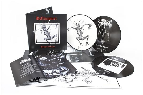 HELLHAMMER-Demon-Entrails-Ltd-3-PICTURE-LP-Set-3-LP